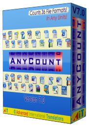 [ ������ ] : AnyCount v7.0 build 707